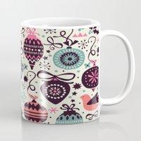 Birds And Baubles  Mug