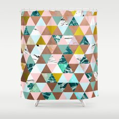Life in a Pattern #society6 #decor #buyart Shower Curtain