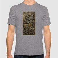 Budapest Ceramic Mens Fitted Tee Athletic Grey SMALL
