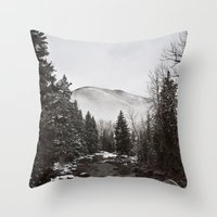 Mid Winter Throw Pillow