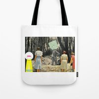 We're Not Always Who We … Tote Bag
