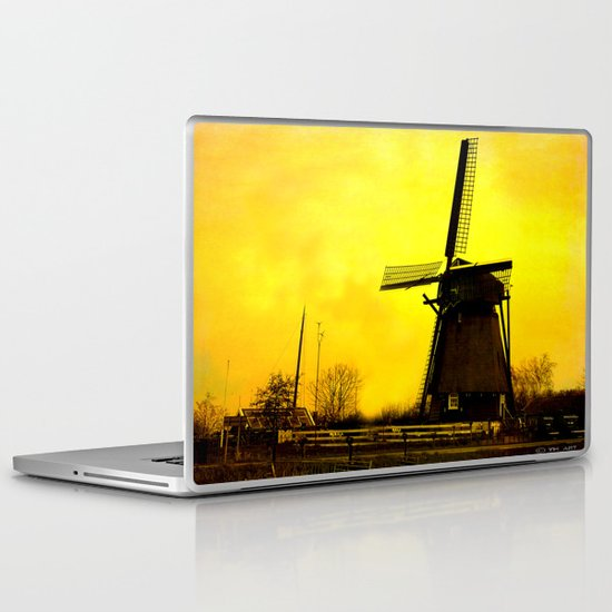 Dutch Windmill Laptop & iPad Skin