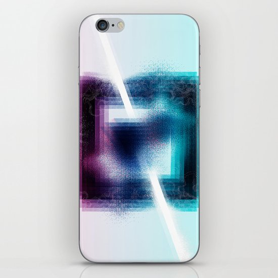 """Prisim"" by Justin Hopkins iPhone & iPod Skin"