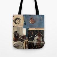 Frau Fragmente Tote Bag