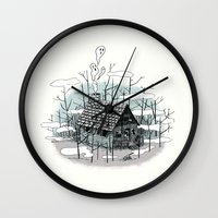 DEEP IN THE HEART OF THE… Wall Clock