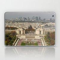 Aerial Paris Laptop & iPad Skin