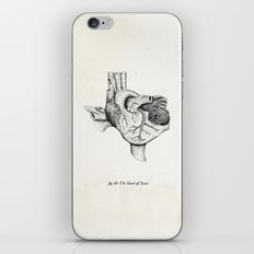 The Heart of Texas iPhone & iPod Skin
