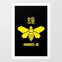 Heisenberg - Breaking Ba… Art Print