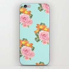 Summer Floral Print II iPhone & iPod Skin