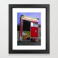 PHOTOAUTOMAT 2 Framed Art Print