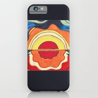 iPhone & iPod Case featuring Ocean Sunset by AKABETSY