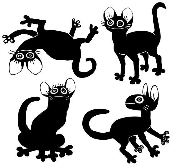 4cats Art Print