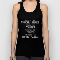 American Horror Story Fo… Unisex Tank Top