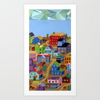 Tigertown Art Print