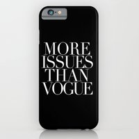iPhone & iPod Case featuring VOGUE {ISSUES} by natalie sales