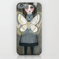 The Moth Girl iPhone 6 Slim Case