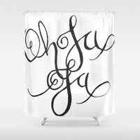 Oh La La Shower Curtain
