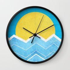 Summer Sea's  Wall Clock