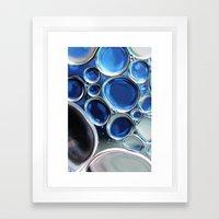 Blue-1 Framed Art Print