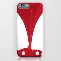 Silhouette Racers - Ferr… iPhone 6 Slim Case
