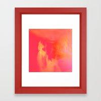 Acid Sun Framed Art Print