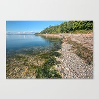 Slack Tide Canvas Print
