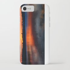 Sunset wings iPhone 7 Slim Case