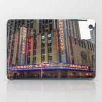 Radio City Music Hall iPad Case