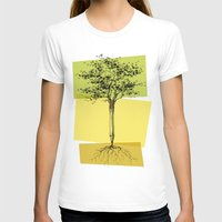 Ideas Don't Grow On Tree… Womens Fitted Tee White SMALL