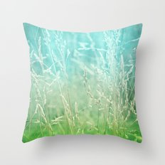 WHISPERING Throw Pillow