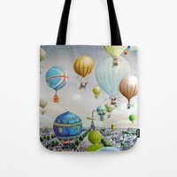 Ballooning Over Everywhe… Tote Bag