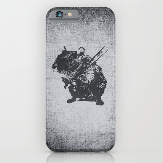 Angry mouse iPhone & iPod Case