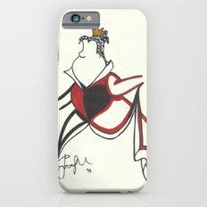 Queen of Hearts Zen Tangle iPhone 6s Slim Case