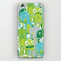 Done with Monster School! iPhone & iPod Skin