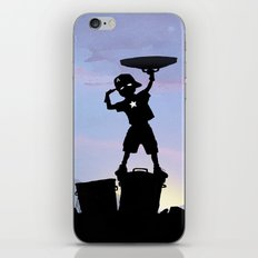 Captain Kid iPhone & iPod Skin