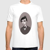 Oswald Cobblepot Mens Fitted Tee White SMALL