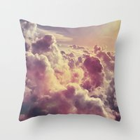 Clouds1 Throw Pillow