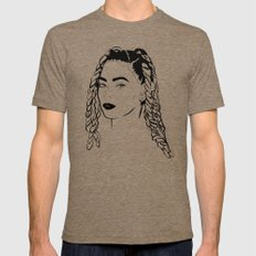Queen Bey Lemonade  Mens Fitted Tee Tri-Coffee SMALL