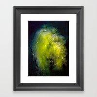 The Algae Nebula Framed Art Print