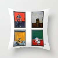 Rothbots (2) Throw Pillow