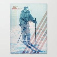 Husky Exploration Canvas Print