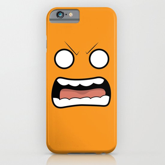 Scary Face iPhone & iPod Case