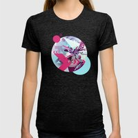 Ice14 Womens Fitted Tee Tri-Black SMALL