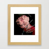Fred Framed Art Print