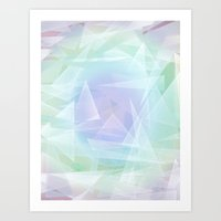 Lagoon, Refraction Art Print