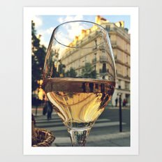 A Taste of Paris Art Print