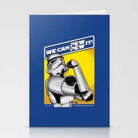 Stormtrooper: 'WE CAN PE… Stationery Cards