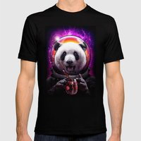 PANDANAUT Mens Fitted Tee Black SMALL
