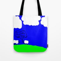Watching the Clouds Go By Tote Bag