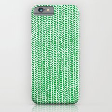 Stockinette Green Slim Case iPhone 6s